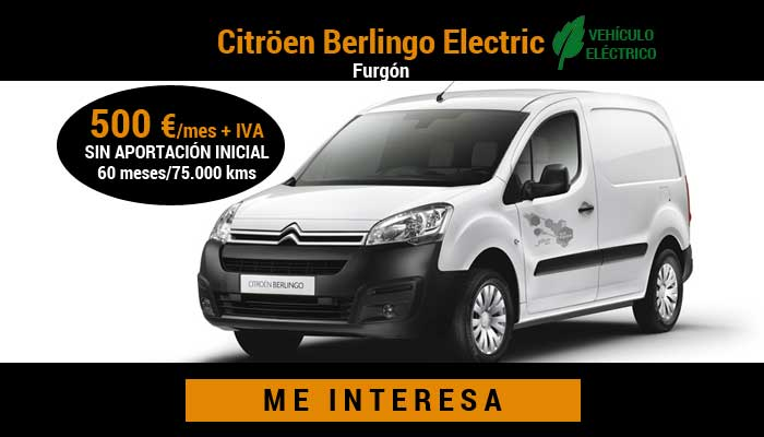 Citröen Berlingo Electric Furgón