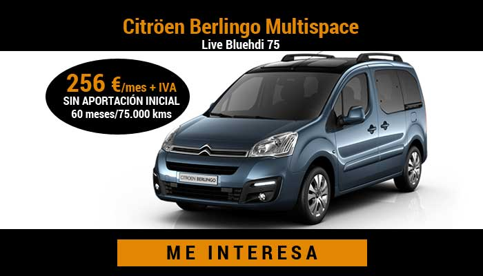Citröen Berlingo Multispace Live Bluehdi 75