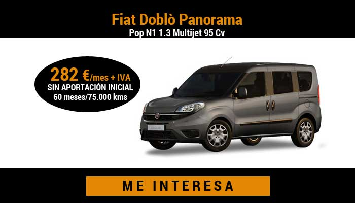 Fiat Doblò Panorama Pop N1 1.3 Multijet 95 Cv